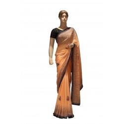 Ethnic wear crape saree