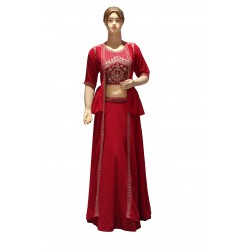 Ethnic wear lehenga set